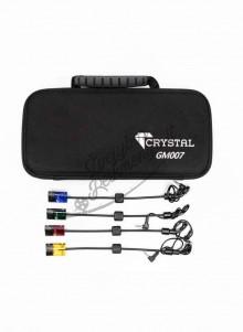 Kibimo indikatorių - swingų komplektas Crystal GM007