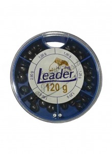 Švinukų rinkinys Leader 1,25-1,8g