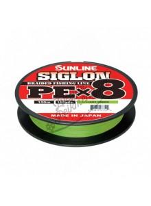 Valas Sunline Siglon PEx8 Light Green 150m 0,121-0,242mm
