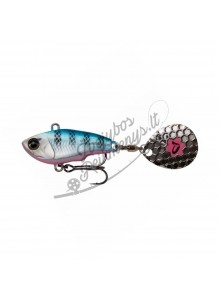 Vobleris Savage Gear Fat Tail Spin 9/16/24g - Blue Silver Pink