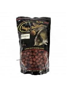 Boiliai Magic Boilies ExtraCarp 1kg - Braškė