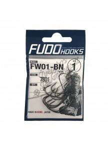 Offset kabliukai FUDO FW01-BN
