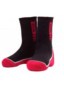 Šiltos kojinės Alaskan Black/Red