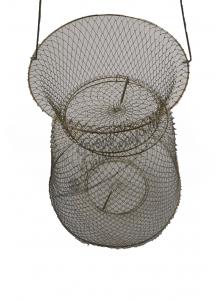 Metalinis tinklelis laikyti žuviai 60cm